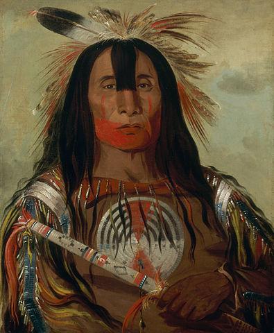 24 citations amérindiennes qui toucheront votre cœur et votre âme Portrait du chef amérindien Buffalo Bull's Back Fat, peintre : George Catlin, Domaine public, via Wikimedia