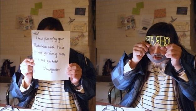 Bonjour, j'espère que tu as apprécié le masque que je t'ai envoyé. Tout le meilleur pour toi et ta famille. » - See more at: http://www.espritsciencemetaphysiques.com/26-moments-retabli-foi-l-humanite.html#sthash.b5SAHIzn.dpuf