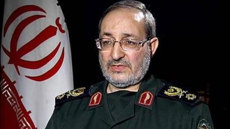 Le brigadier-général iranien Massoud Jazayeri