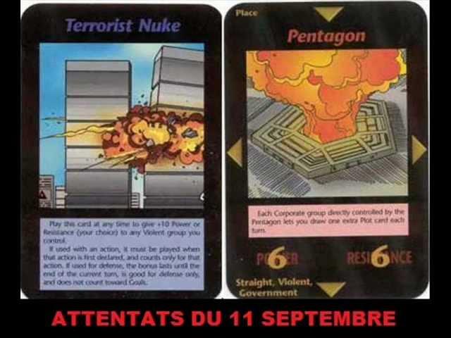 Le Jeu De Cartes Illuminati Créé En 1995 Qui Prévoit Les