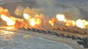 Exercice Nord Coréen, avril 2017