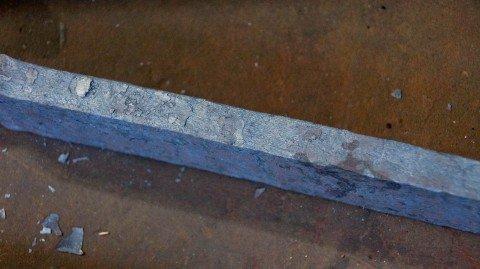 Une épée faite en acier de Damas. (NearEMPTiness/Wikimedia Commons)