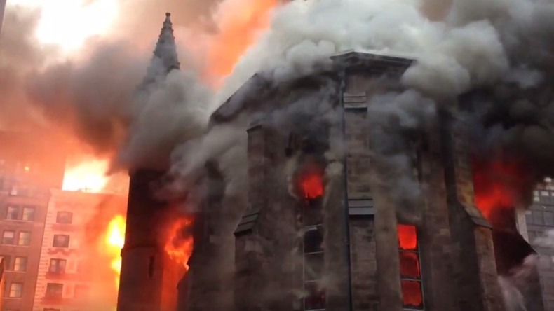 incendies d'église