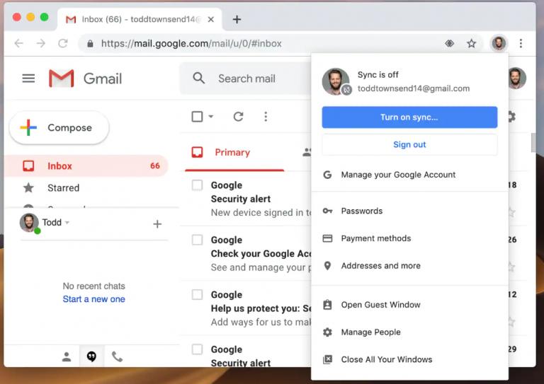 Google Chrome espion