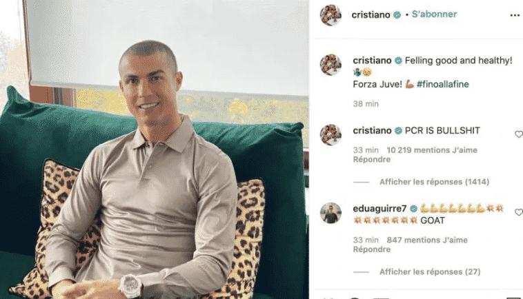 tests PCR Ronaldo