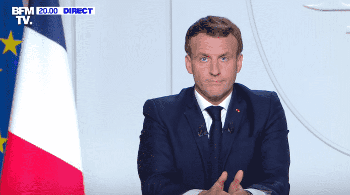 Macron confinement