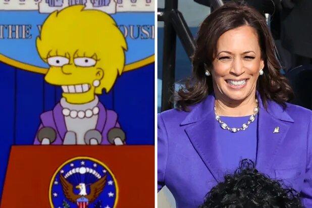 Simpson Kamala Harris