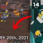 prédictions Simpson 20 janvier 2021
