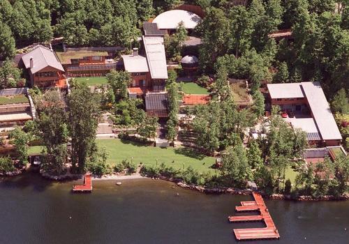 Melinda Gates île privée